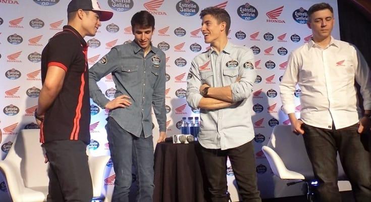 Granado, Álex e Marc: conversa de campeões