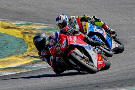Pedro Sampaio obteve o quarto lugar em sua estreia pela Honda Racing. Piloto foi destaque nas 600cc no ano passado - Foto: Ricardo Santos