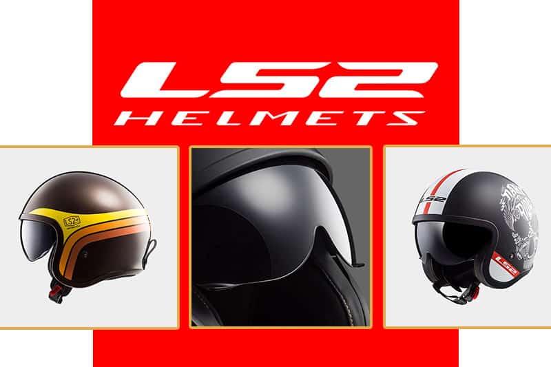 LS2 lança linha de capacetes Spitfire, dedicada especialmente aos fãs de motos café racer