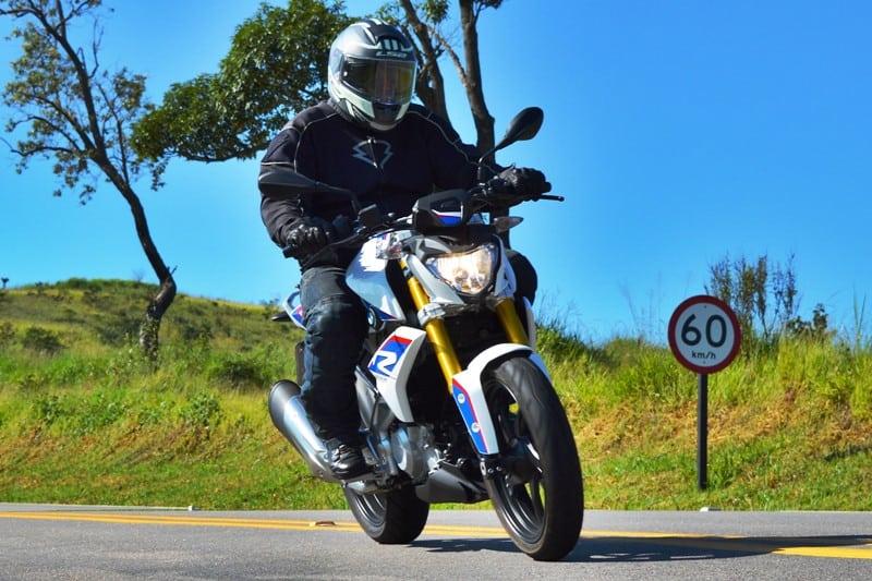 A moto surpreende pelo desempenho: ele entrega mais do que se esperaria