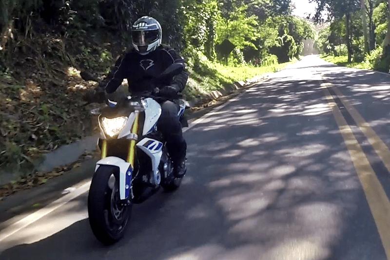Uma moto para todos os dias, inclusive passeios nos finais de semana