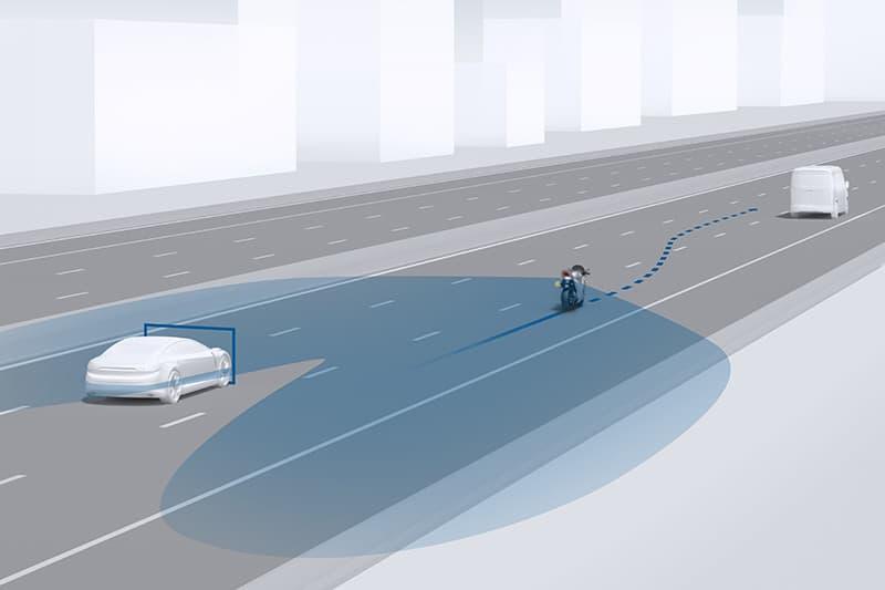 O sistema atua como uma espécie de olho eletrônico, garantindo mais segurança no momento de mudar de faixa
