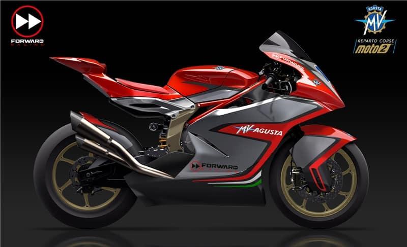A temporada 2019 da Moto2 terá, entre suas novidades, o retorno da MV Agusta ao Mundial de Motovelocidade
