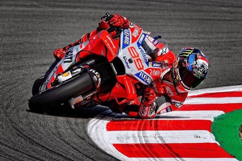 Um rei nunca perde a majestade. Jorge Lorenzo apresenta ótimo desempenho em suas últimas provas pela Ducati