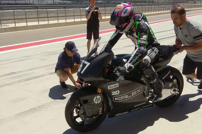 KTM, NTS e Kalex testaram seus protótipos com motor Triumph na pista de Aragão, que recebe o Mundial em setembro