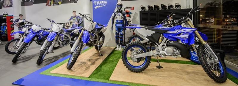 Concessionárias Racing Blue tem área específica e funcionários exclusivos para atendimentos aos clientes da linha off -road da Yamaha