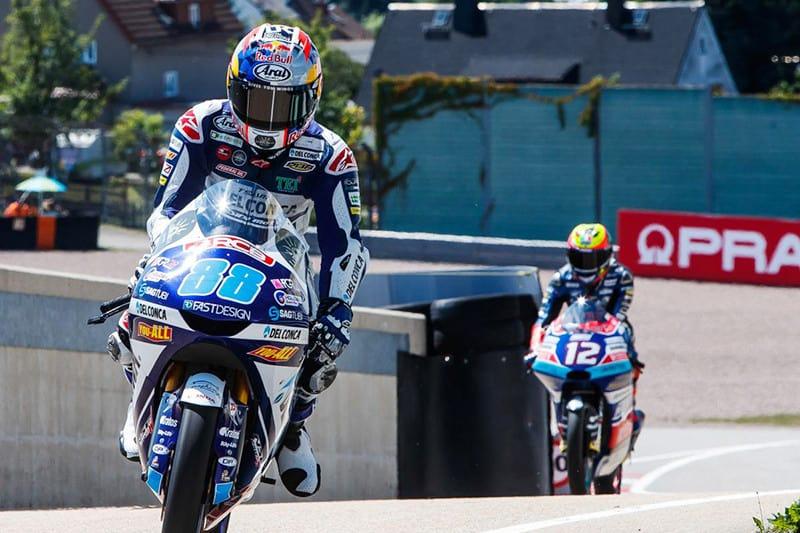 Jorge Martin conquista mais uma vitória e é líder no Mundial de Moto3