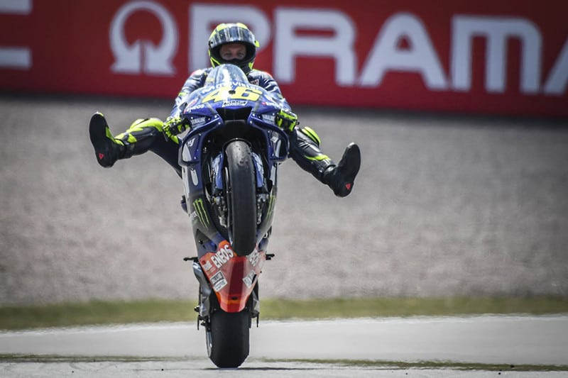 Valentino Rossi conquista 232º pódio da carreira (e contando...)