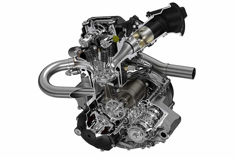 Motor da CRF 250R 2019