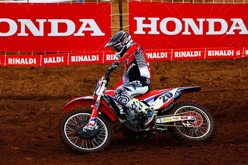 Líder da Elite MX, Jetro Salazar (Honda Racing) quer assumir a frente também na MX1