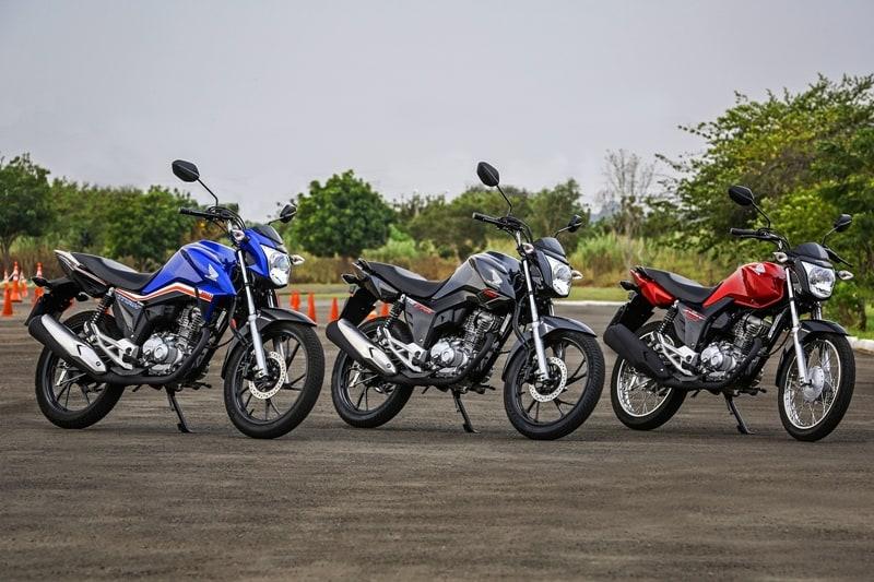 Honda CG Titan, Fan e Start: novas cores e grafismos