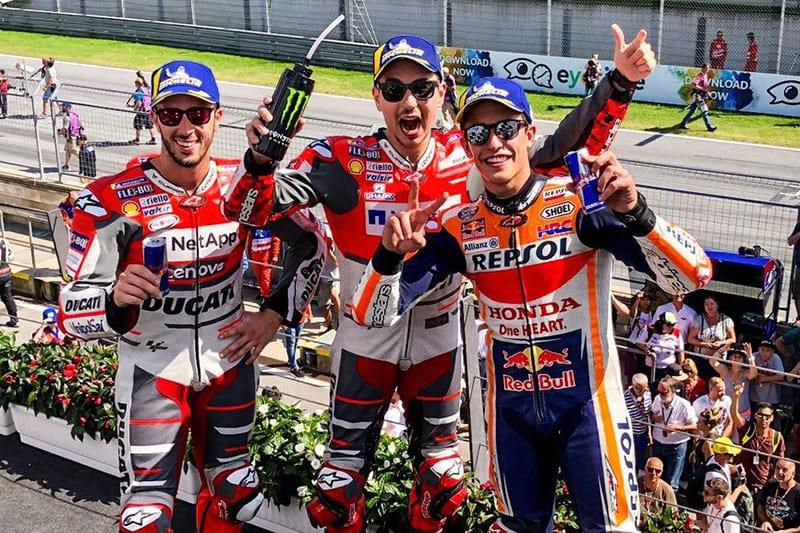 Lorenzo sobe para o terceiro lugar na classificação e Márquez continua abrindo vantagem na liderança... agora, já são 59 pontos