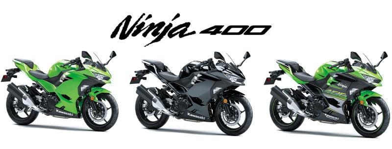 Com três opções de cores, preços sugeridos da Ninja 400 variam entre R$ 23.990,00 e R$ 24.990,00