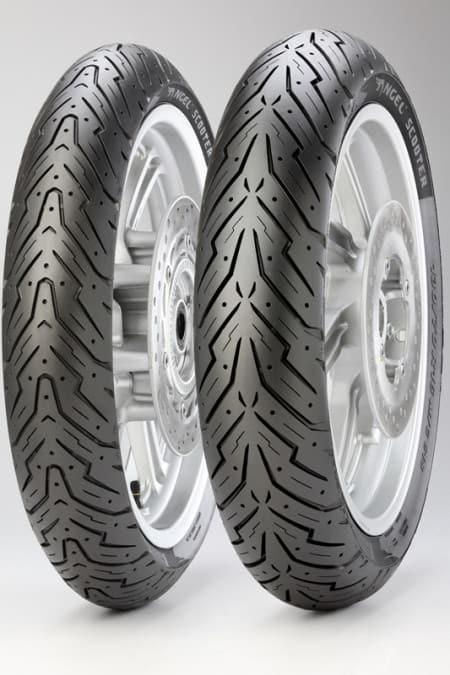 """Pirelli Angel Scooter tem """"cara de mal"""" apenas no pneus traseiro"""