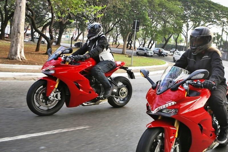A Ducati Supersport S é moto para todos os dias? Sim, desde que na sua cidade o tráfego não seja engarrafado