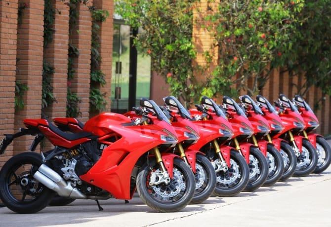Ducati Supersport S: versatile, ma non così