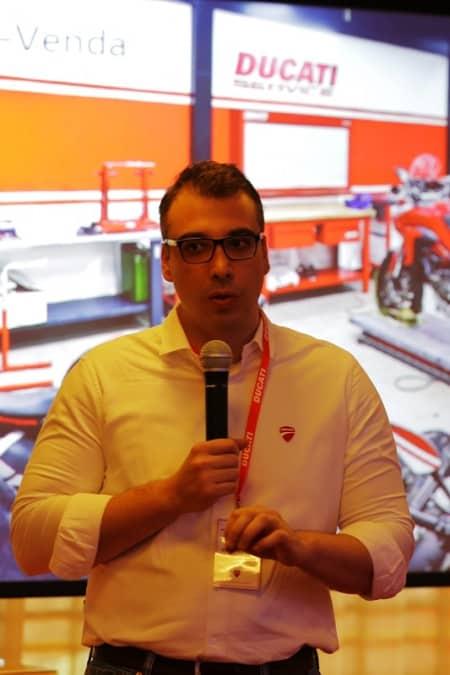 Diego Borghi: Ducati Supersport S tem a missão de ser a moto que atende a consumidores que querem uma moto para tudo. Difícil missão!