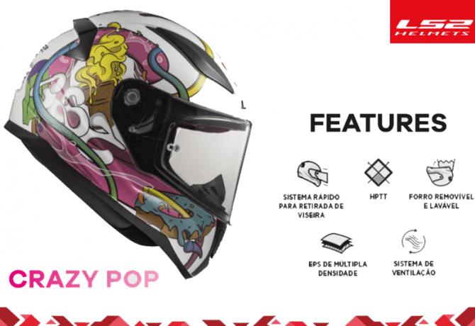 LS2 Rapid Mini leva qualidade aos capacetes infantis