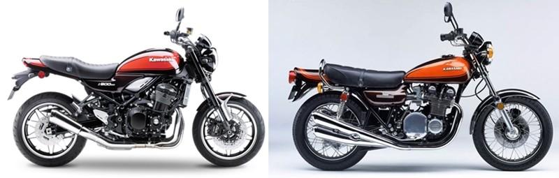Z900 RS traz 47 anos de evolução tecnológica, mas conserva o mesmo carisma da Z1