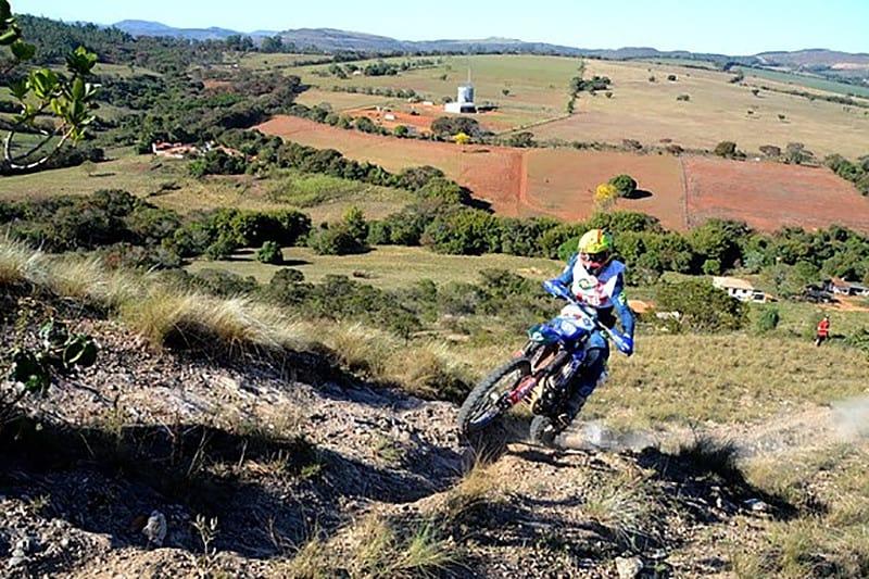 Jomar Grecco acelerou tudo para conquistar seu quinto título na categoria principal do Enduro da Independência - Foto: Leo Corrosivo/Yamaha 02BH