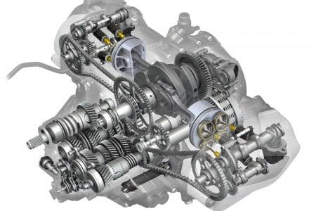 O novo motor 1250