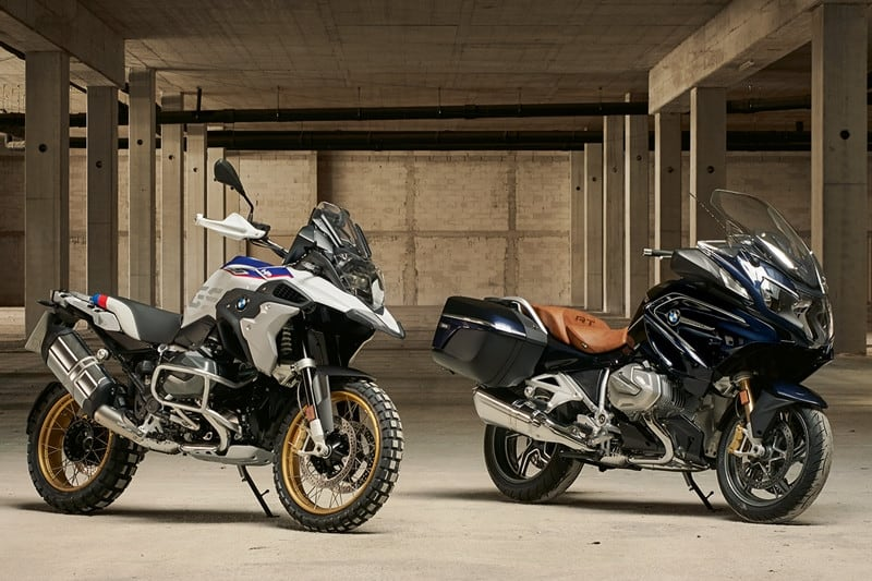 BMW R 1250 GS e R 1250 RT: motor novo