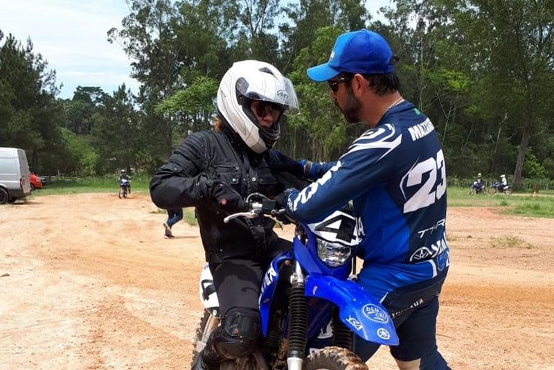 Hélio Mazzarella, o instrutor da Yamaha: Atenção especial a cada participante