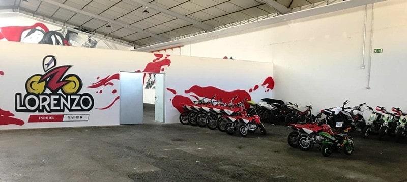 Completa estrutura está disponível na Lorenzo Racing School para os participantes do CAPE