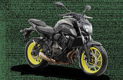Agora, a solitária (e remodelada) MT-07 tem a missão de representar a Yamaha no segmento de nakeds médias