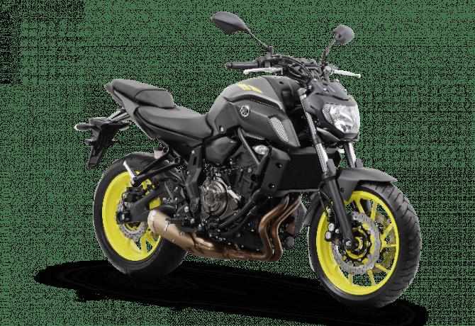 Yamaha MT-07 2019 ganha pequenos ajustes