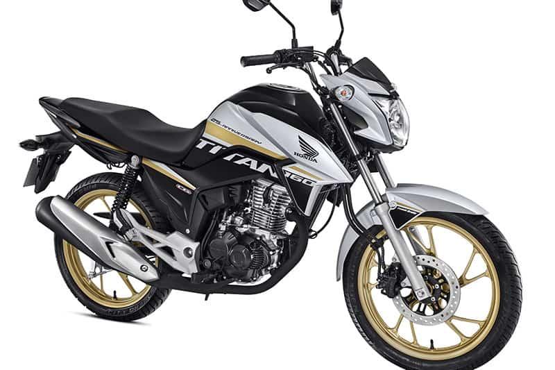 Edição especial da Honda CG 160 celebra os 25 anos da Titan com cores e  grafismos 9346e4c9f0