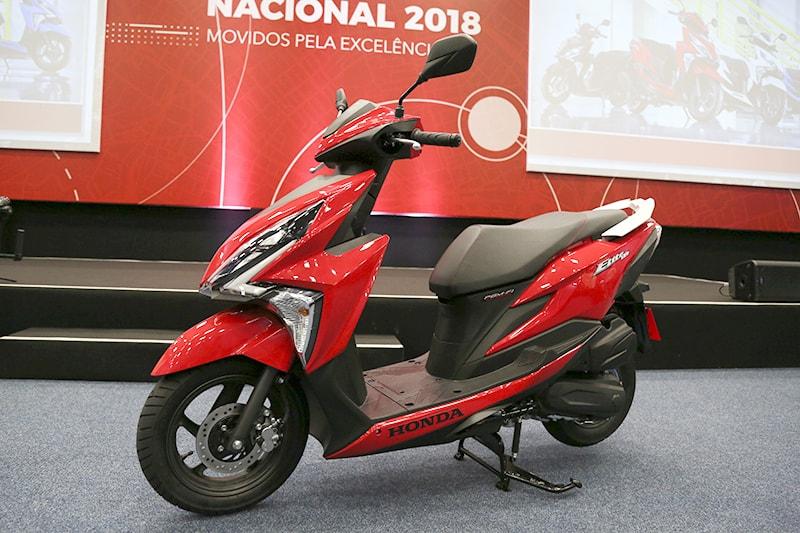 Honda Elite 125 Chega Para Brigar Com Yamaha Neo Motonline