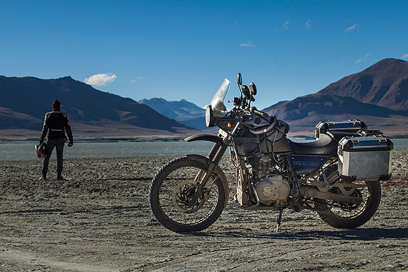 A Royal Enfield Himalayan virá! Modelo será apresentado em janeiro como a aventureira da marca