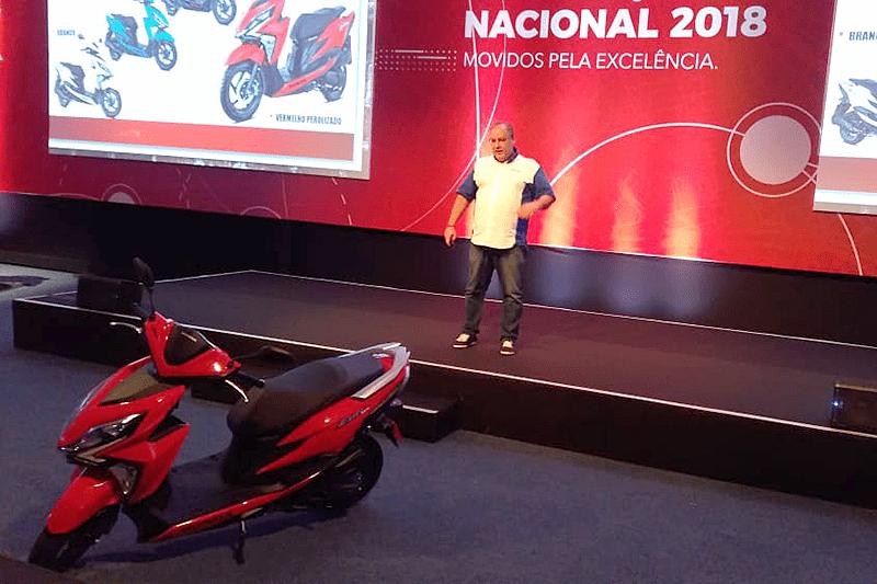 Modelo foi apresentado pela Honda na semana passada, na mesma ocasião em que mostrou outras novidades, como a nova XRE 300 2019