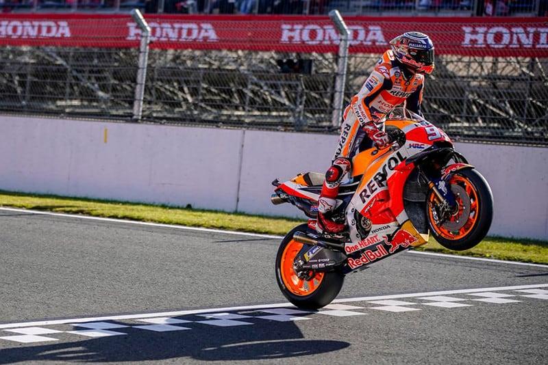 Novamente, MotoGP terá 19 etapas este ano. Em 2018, Márquez conquistou o título com quatro provas de antecedência, no Japão (foto)