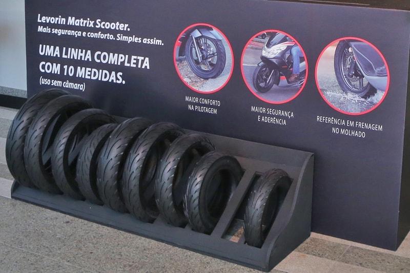 Matrix Scooter: 10 medidas para scooter até 300 cc