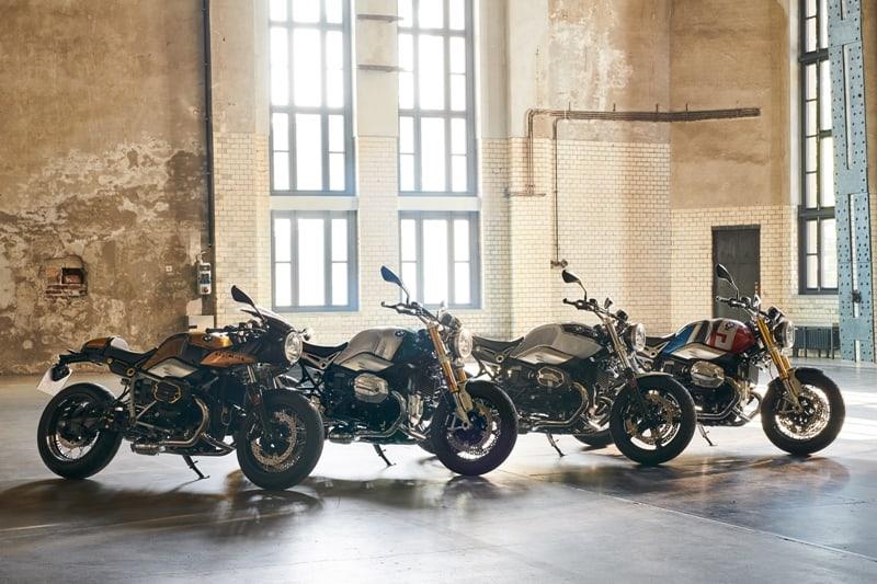 As quatro BMW R nineT personalizadas em exibição no Custombike Show