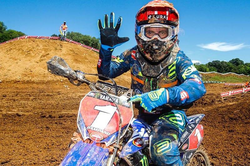 Jean Ramos: espanhol é pentacampeão Brasileiro de Motocross! Título veio a bordo da Yamaha YZ 450F - Foto: Maurício Hass/Yamaha