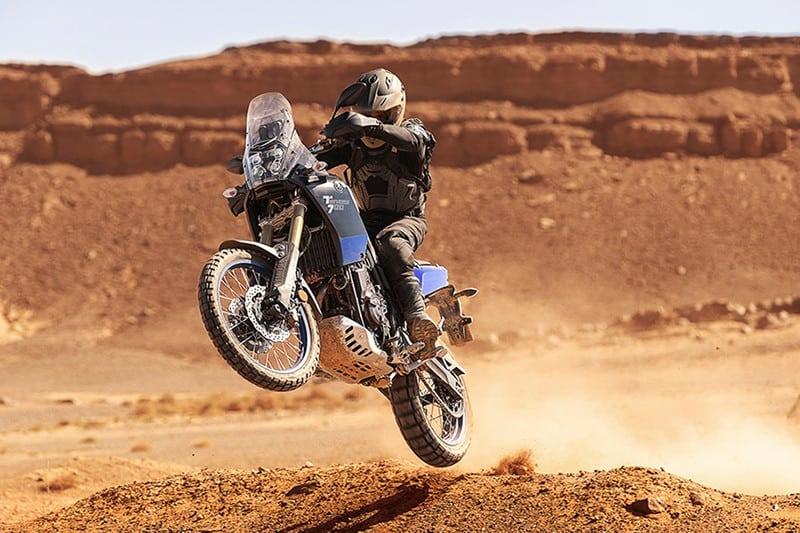Com motor ágil, chassi exclusivo, ABS comutável, rodas 21 e 18 polegadas e visual agressivo a Tenere 700 quer conquistar os amantes de terra