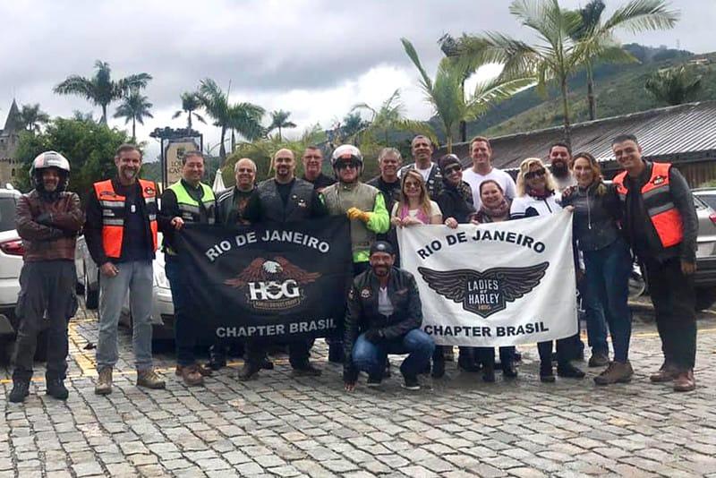 Organizadores animados com a realização do HOG Rio Fest 2018