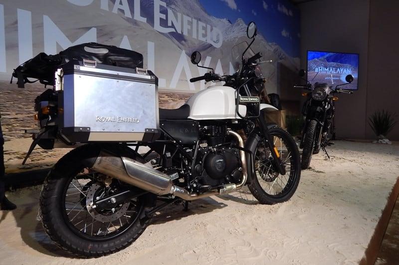 Himalayan vem em versão única, duas cores e com preço agressivo: R$18.990