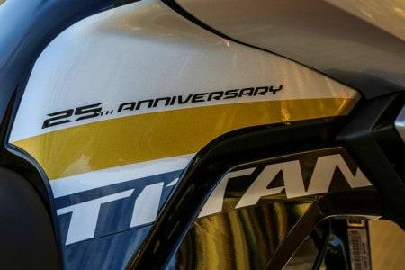 CG Titan edição especial 25 anos