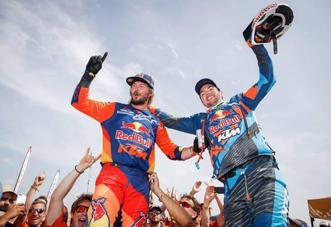 Invencível, KTM fatura 18º título no Rally Dakar