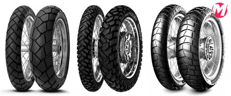 Observar as opções para o mesmo tipo de moto: cada modelo de pneu é mais adequado a um tipo de uso específico