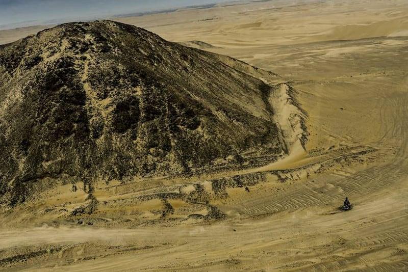 Pela primeira vez o Dakar é disputado apenas em um país. No Peru, 70% do traçado será na areia - Foto: Dakar/DPPI