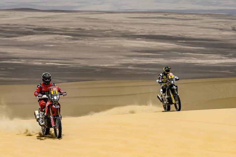 Pilotos encararam muita areia ao longo de 342 quilômetros cronometrados - Foto: Dakar-DPPI