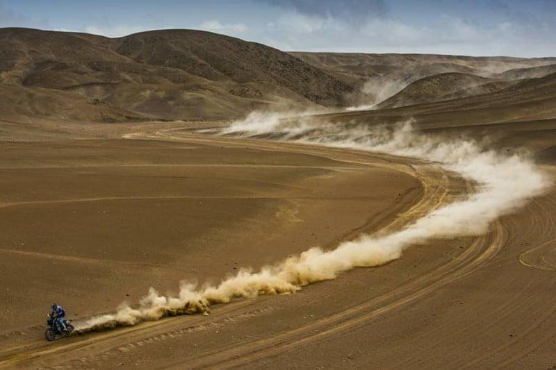 Dakar 2019 está percorrendo 5 mil quilômetros, com 70% sobre a areia - Foto: Dakar-DPPI