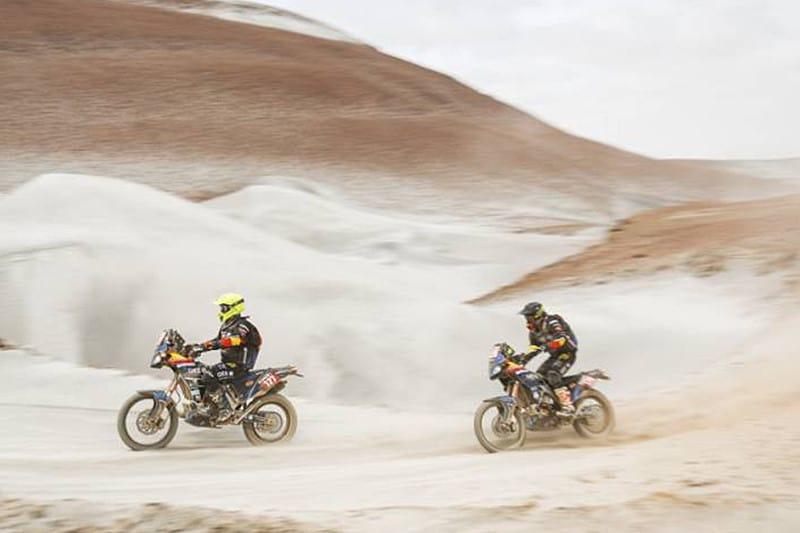 Dakar está na fase maratona: duas etapas onde pilotos correm sem apoio das equipes - Foto: Dakar-DPPI