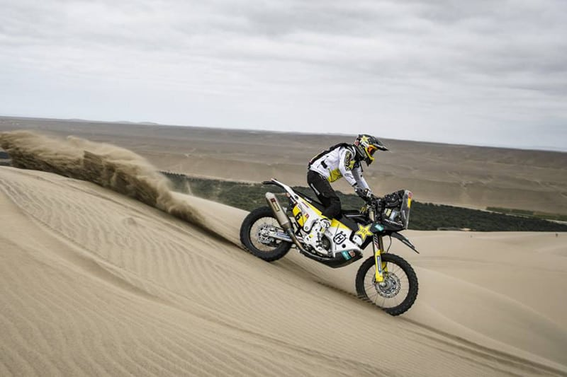 Pablo Quintanilla coloca a Husqvarna no topo do Rally Dakar 2019 ao vencer a sexta etapa! - Foto: Dakar/DPPI