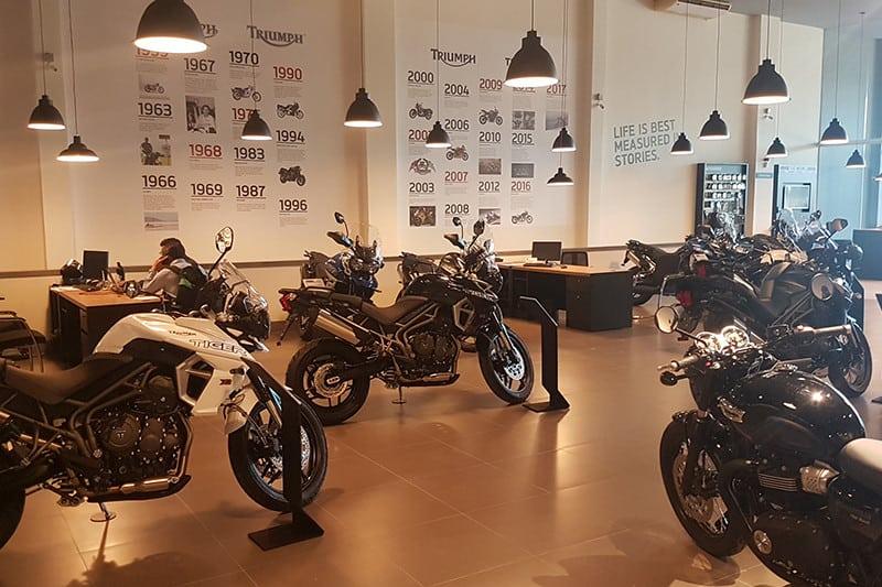 Triumph Cuiabá é a 16ª loja da marca no País
